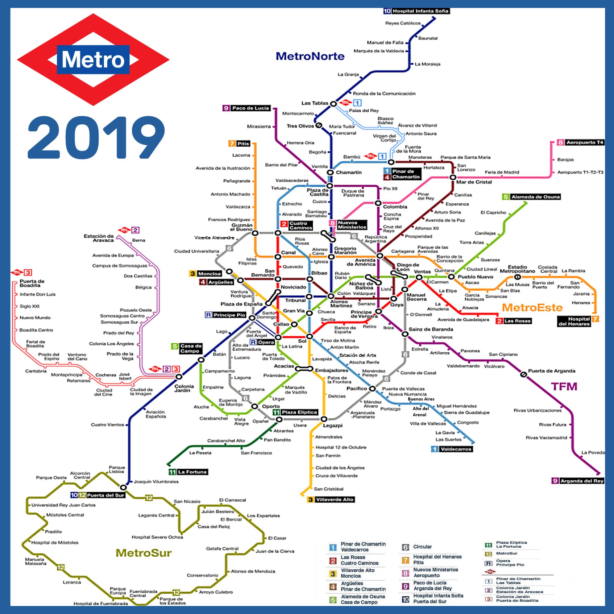 infografía metro