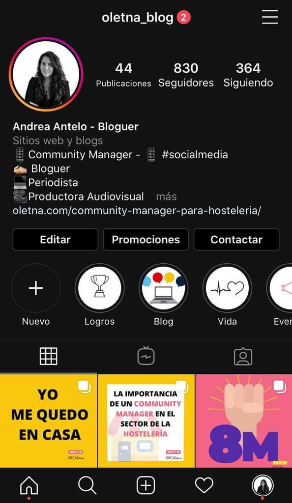 marca personal instagram