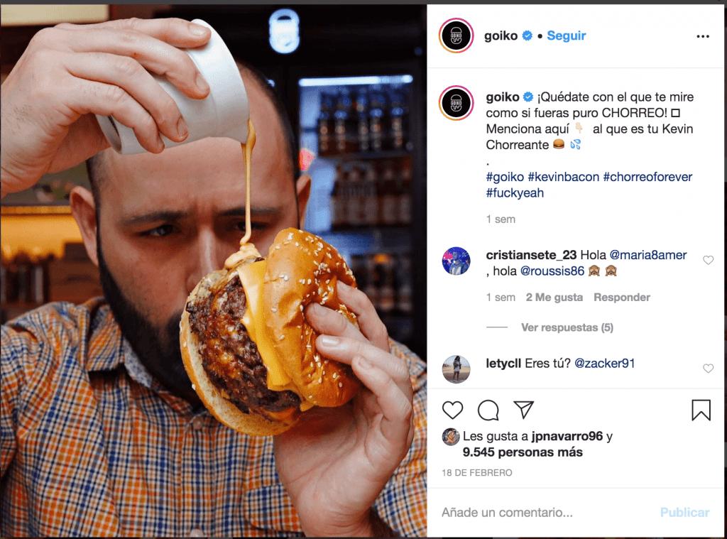 hamburguesa instagram