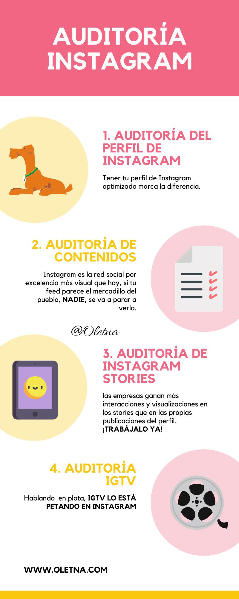 auditoria instagram